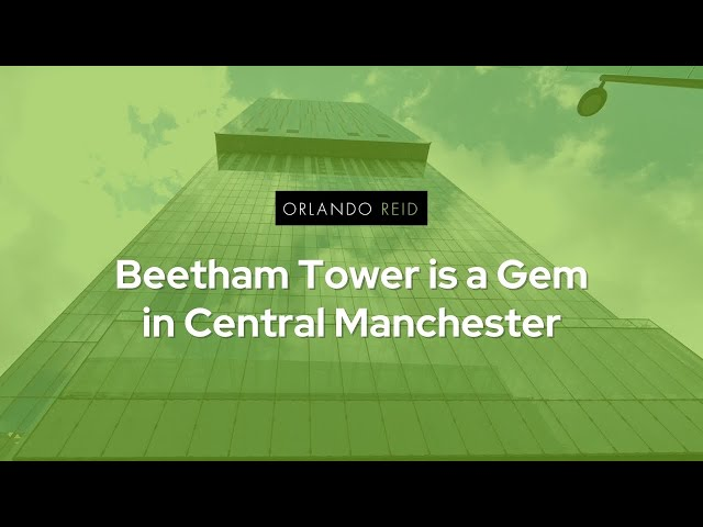 An apartment in Manchester's Beetham Tower benefits from great potential - Orlando Reid