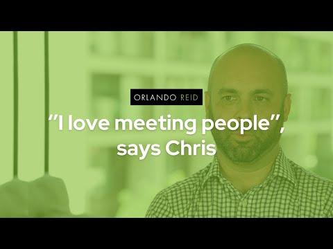 ''I love meeting people'', says Chris - Orlando Reid