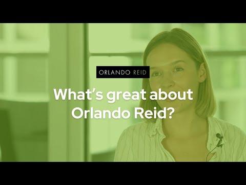 What's great about Orlando Reid? - Orlando Reid