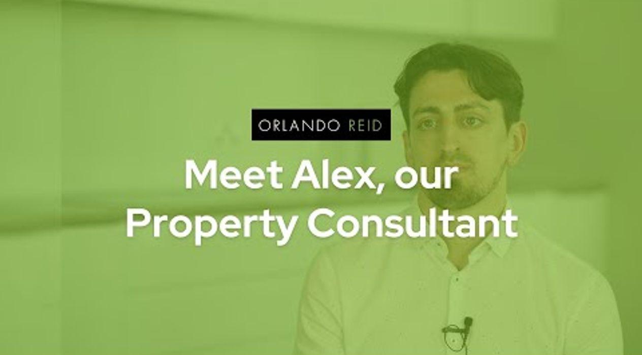 Meet Alex, our Property Consultant - Orlando Reid
