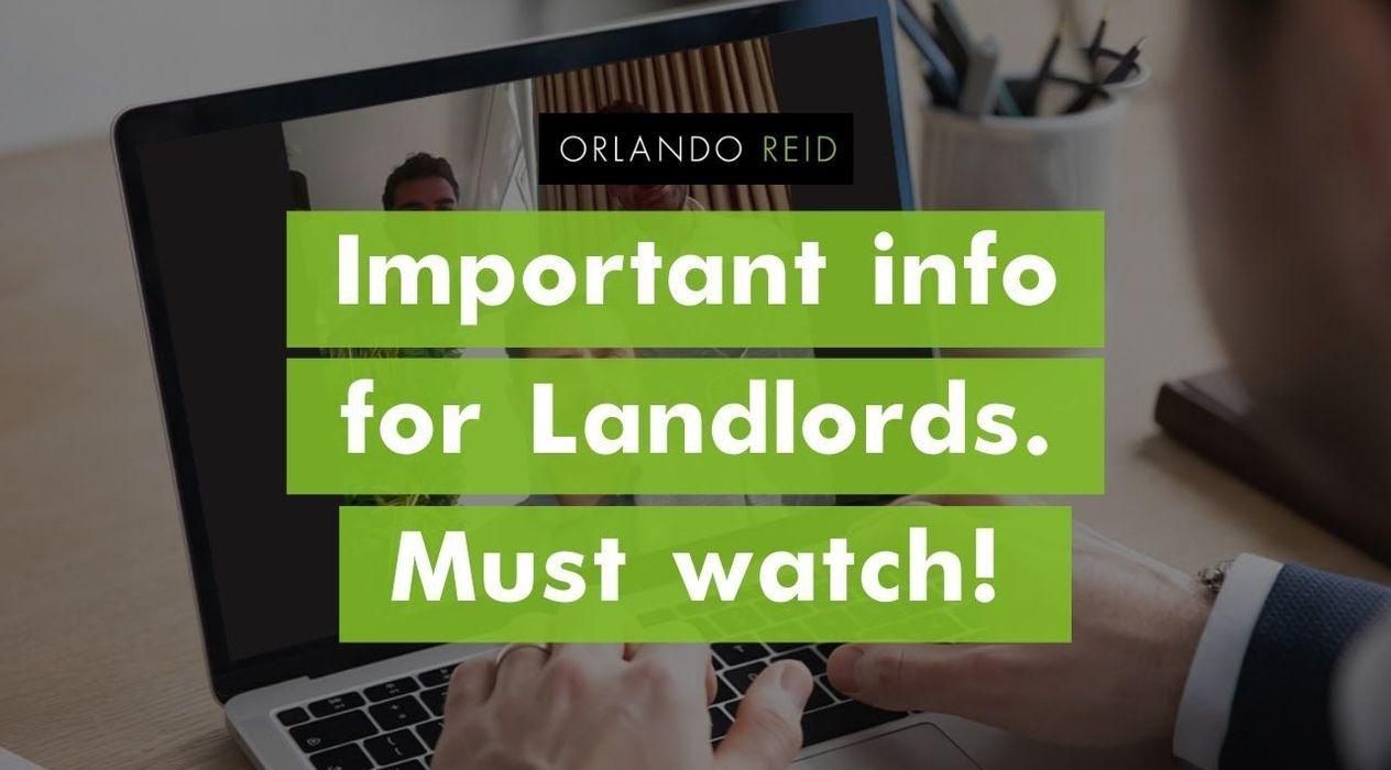 Orlando Reid expert updates for landlords - Orlando Reid