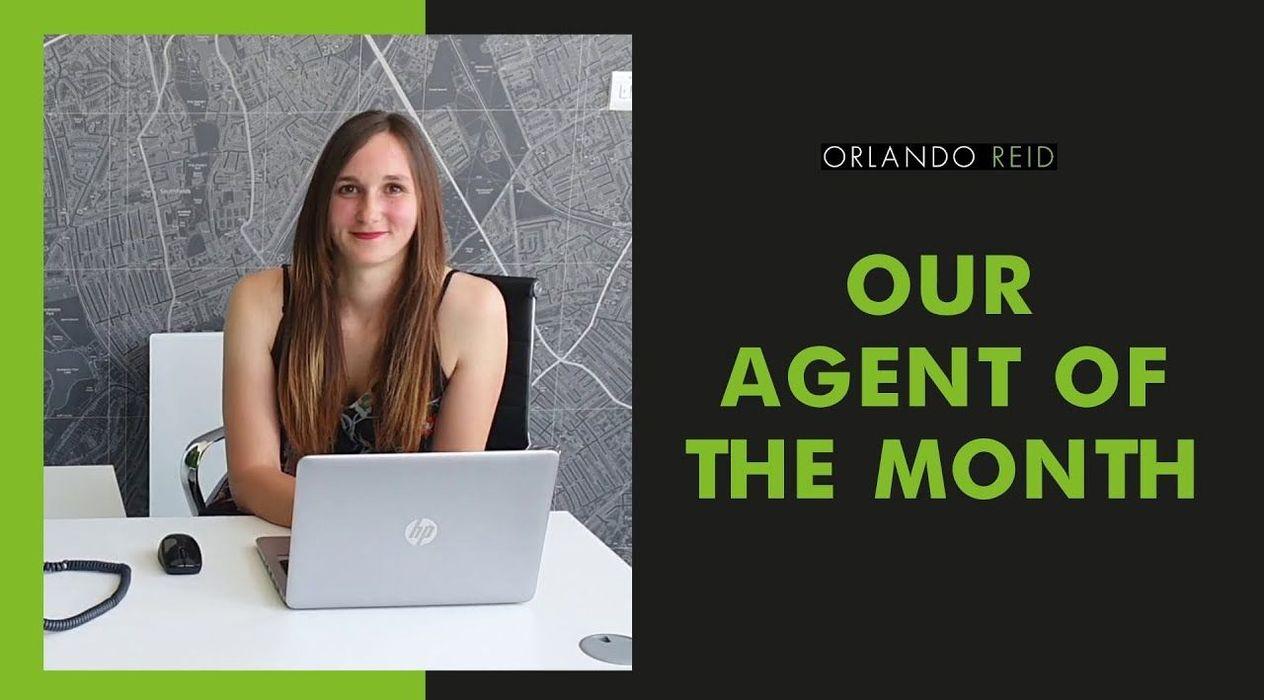 Team member spotlight 👈 | Agent of the Month - Federica  - Orlando Reid