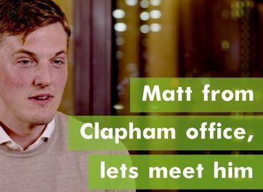 Meet Matt Our Clapham Sales Manager - Orlando Reid